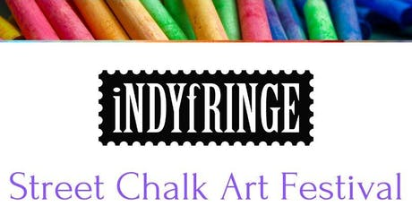 IndyFringe Street Chalk Art Festival (Artist Entry Fee) tickets