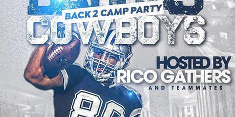 Dallas Cowboys Back to Camp Party This Friday  At Status  tickets