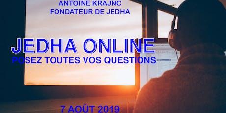 Jedha Online - Posez-nous toutes vos questions ! - Antoine Krajnc, fondateur du Bootcamp billets