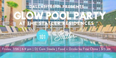 Glow Party at The Statler Residences tickets