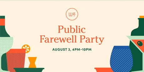 West Egg Farewell Party (Public) tickets