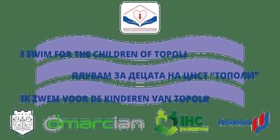 Steun zwemmers voor kids met beperking @Topoli/ Support swimmers for Topoli