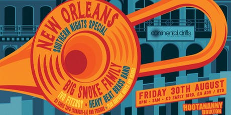 Continental Drifts: New Orleans Southern Nights Special tickets