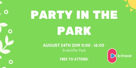 b:friend - Party in the Park tickets