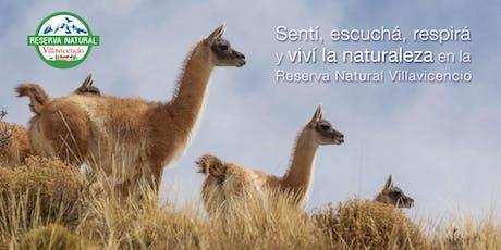 Ticket de Ingreso a Reserva Natural Villavicencio  entradas