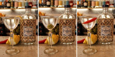 Make your own Martini with Fishers Gin