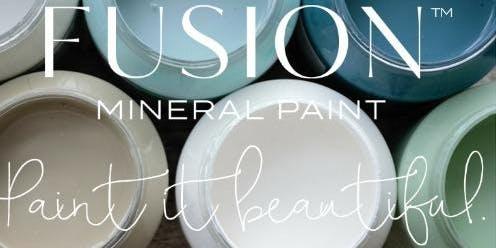 Paint It Pretty 101- Fusion™ Mineral Paint Class