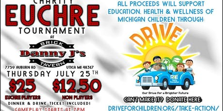 DRIVE Charity Euchre Tournament tickets