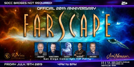 Official Farscape 20th Anniversary San Diego Comic-Con VIP Party tickets