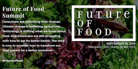 EatingWelI & IFIC Future of Food Summit tickets