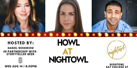 Howl at Nightowl - Wednesday August 14th tickets