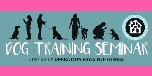 OPH Rescue Training Seminar with Olde Towne Pet Resort