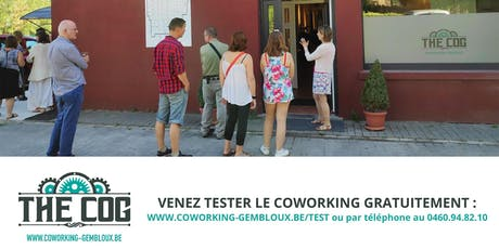 "Afterwork : Soirée PITCH SUMMER COG au Coworking de Gembloux ""The COG"" billets"