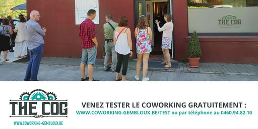 "Afterwork : Soirée PITCH SUMMER COG au Coworking de Gembloux ""The COG"""