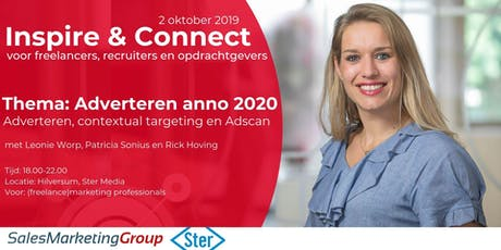 Inspire & connect | Ster: TV & Online Advertising | Hilversum tickets