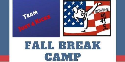 Team Just 4 Kicks - Fall Break Camp
