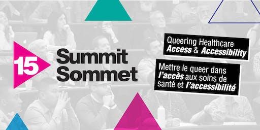 Summit 2019: Queering Healthcare Access & Accessibility | Sommet 2019 : Mettre le queer dans l'accès aux soins de santé et l'accessibilité
