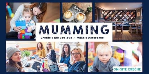 Mon 12th August: Mumming Co-Working & Crèche