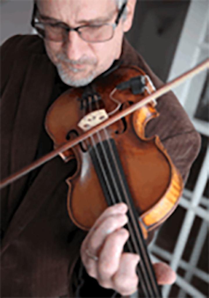 Violinist Tom Bowling image
