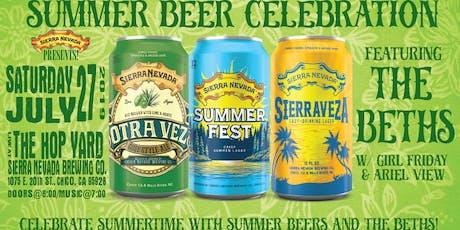 Sierra Nevada Presents! Summertime Brews w/ The Beths tickets
