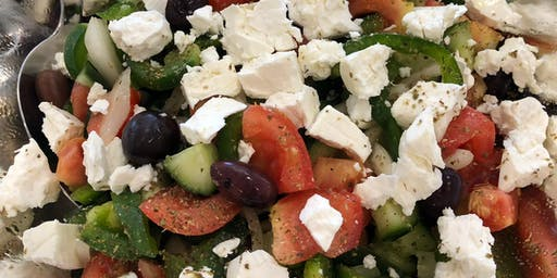 Greek Salad Demo by Agora Products @ Boutique Fairs!
