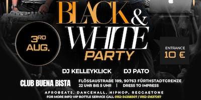 Black And White Afrika Party Fürth. Samstag, 03 August 2019