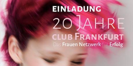 20-jähriges Jubiläum des BPW Club Frankfurt am Main Tickets