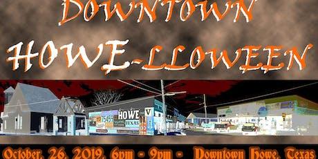 Downtown Howe-lloween Festival 2019 tickets