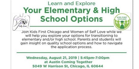 Learn and Explore your Elementary & High School Options Event tickets