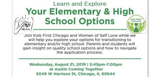 Learn and Explore your Elementary & High School Options Event