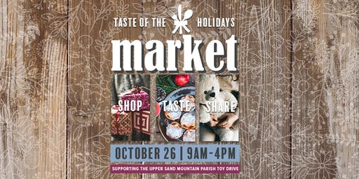Taste of the Holidays Market