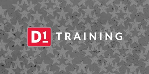 D1 Operator Training - August