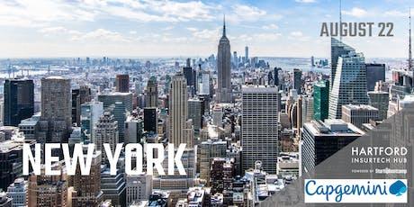 New York FastTrack - Hartford InsurTech Hub powered by Startupbootcamp  tickets