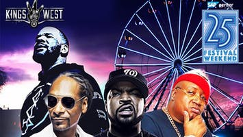 """""""Kings of the West"""": Snoop Dogg, Ice Cube, The Game, E-40, Warren G & More"""