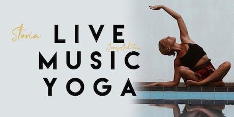 Storia Live Yoga @F-Musiikki Helsinki tickets
