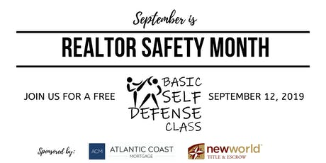 FREE REALTOR Basic Self Defense Class tickets