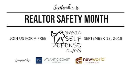 FREE REALTOR Basic Self Defense Class