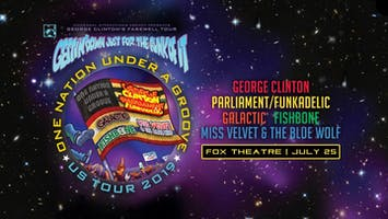 George Clinton with Parliament/Funkadelic