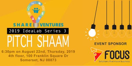 ShareVentures Pitch Fest 3.0 tickets