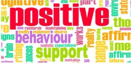 Positively Intervening In Negative Behaviour tickets