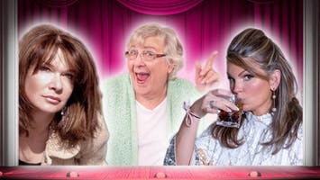 """Three Hysterical Broads... Off their Medication"""