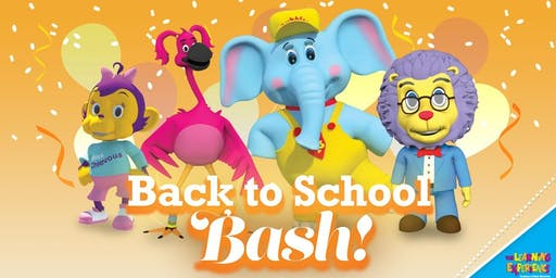 Bubbles' Summer Back To School Bash