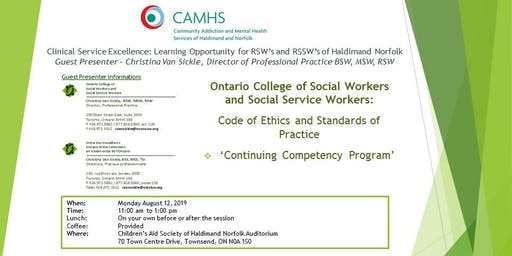 Clinical Service Excellence: Learning Opportunity for RSW's and RSSW's