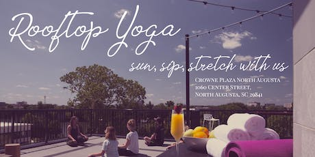 Sun, Sip, Stretch - Rooftop Yoga at Jackson's Bluff with Taylor Watts tickets