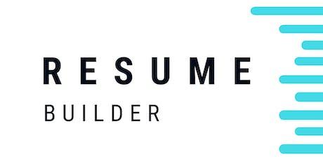 Digital Workshop: Resume Builder - Paris billets