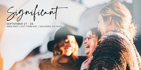 Significant Conference 2019 tickets