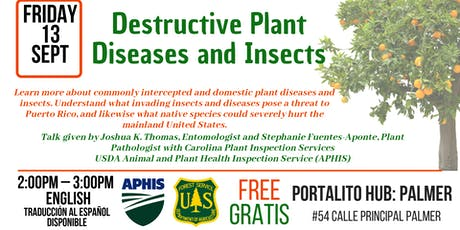 Destructive Plant Diseases and Insects tickets