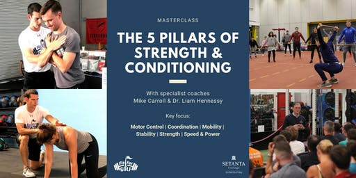 The 5 Pillars of Golf Strength & Conditioning