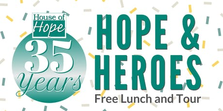 Hope & Heroes Free Lunch and Tour tickets