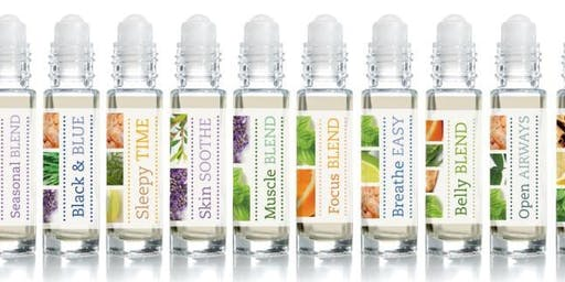 Natural Solutions with Essential Oils with Make and take